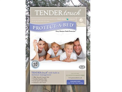 Protect_A_Bed Tender Touch Tencel Protector 4 6 Double Protector
