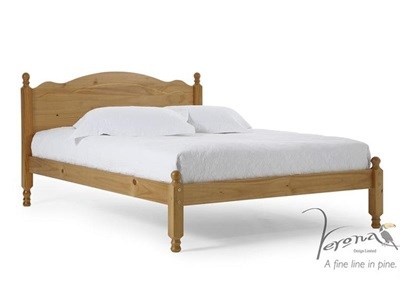 Verona Design Ltd Roma 3 Single Antique Slatted Bedstead Wooden Bed