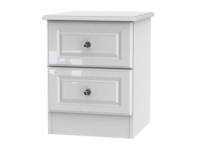 Furniture Express Balmoral 2-Drawer Locker Bedside Chest