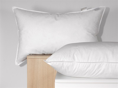 The Soft Bedding Company Hotel White Goose Feather & Down Single Pillow Pillow