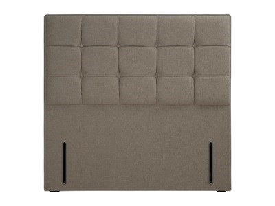 Hypnos Grace - Euro Slim 5 King Size Biscuit Weave Headboard Only Fabric Headboard