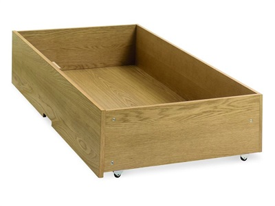 Bentley Designs Atlanta Oak Underbed Drawer Oak Underbed Storage Underbed Drawer