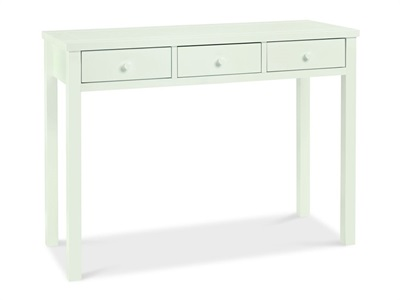Bentley Designs Atlanta White Dressing Table White Flat Packed Dressing Table