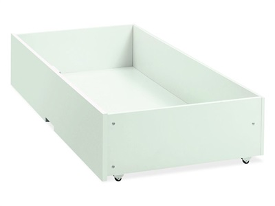 Bentley Designs Atlanta White Underbed Drawer White Underbed Storage Underbed Drawer