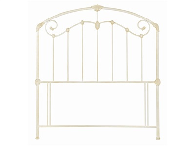 Bentley Designs Lauren 4 6 Double Ivory Headboard Only Metal Headboard