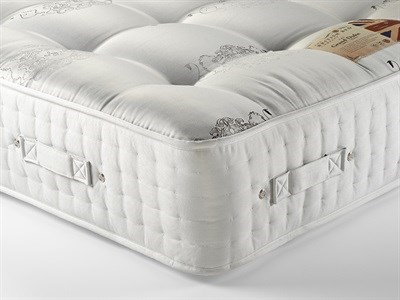 British Bed Company The Grand Duke (Medium) 5 King Size Zip And Link