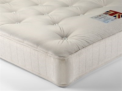 British Bed Company Contract Leisure Ortho Two 5 King Size Zip And Link Mattress