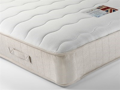 British Bed Company Contract Leisure Pocket Memory Four 4 6 Double Mattress