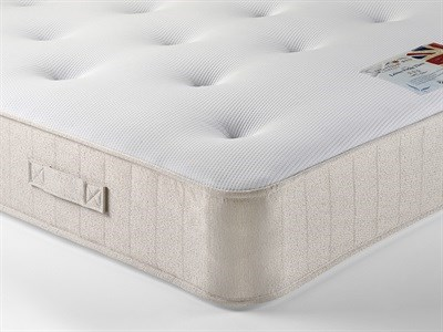 British Bed Company Contract Leisure Pocket Three 5 King Size Zip And Link Mattress