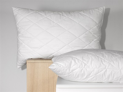 Carpenter Quilted Memory Cluster Single Pillow Memory Foam Pillow