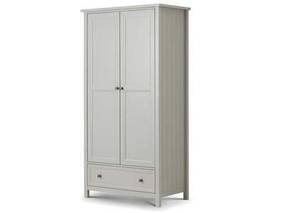 Julian Bowen Maine 2 Door Combination Wardrobe Wardrobe