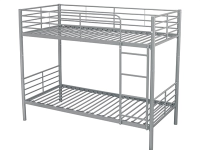 Furniture Express Apollo Silver 3 Single Bunk Bed