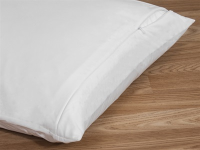Protect_A_Bed Allerzip Smooth Pillow Protector Twin Pack Pillow Protector