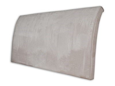 New Design Alpha - Barley 4 6 Double Barley Faux Suede Headboard Only Fabric Headboard