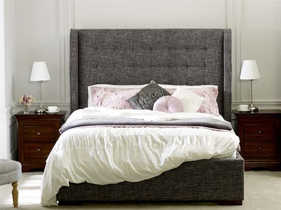 Limelight Aquila 4 6 Double Fabric Bed
