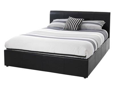 Serene Furnishings Tuscany 3 Single Brown Ottoman Bed Ottoman Bed