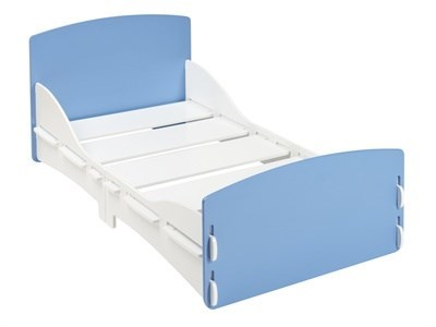 Kidsaw Shorty Junior Bed Blue 2 6 Small Single Childrens Bed
