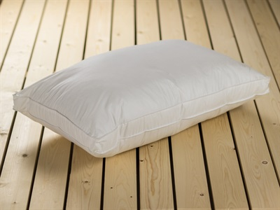 British Bed Company The Back Sleeper Feather Pillow Single Pillow