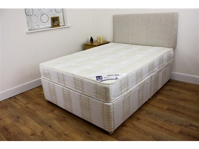 Shire Beds New Backcare - Four Drawer Divan Set 4 6 Double Platform Top - 4 Drawers Divan