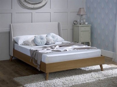 Limelight Bianca 4 6 Double Fabric Bed
