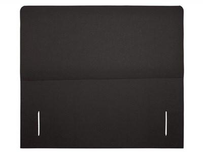 Snuggle Beds Breeze Black 4 6 Double Executive Black Fabric Headboard