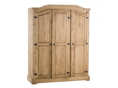 Birlea Corona 3 Door Wardrobe 3 Door Wardrobe
