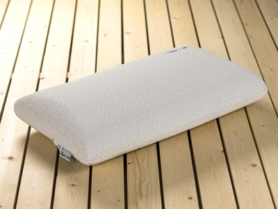 Snuggle Beds CharCOOL Ribbed Pillow Memory Foam Pillow