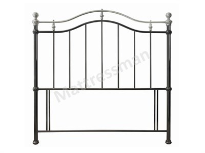 Bentley Designs Chloe 5 King Size Black Metal Headboard