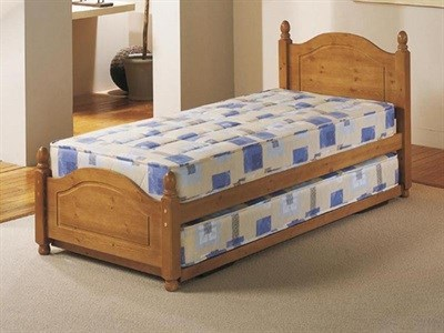 AirSprung Columbia Guest Bed Frame 3 Single Stowaway Bed