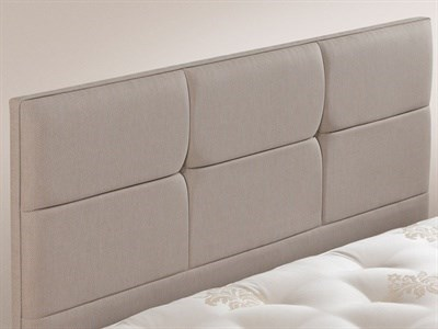 Relyon Contemporary 4 6 Double Champagne 3278 Bed Fixing Headboard Fabric Headboard