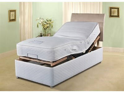 Sleepeezee Cool Comfort Electric Bed No Drawer 6 Super King Adjustable Bed - No Drawers Electric Bed
