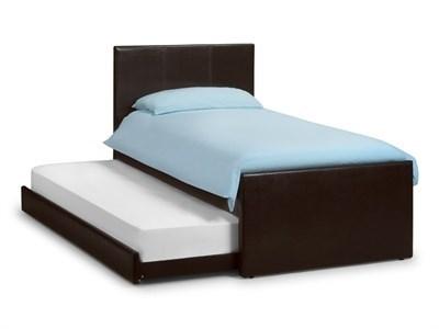 Julian Bowen Cosmo Guest Bed 3 Single Brown Stowaway Bed
