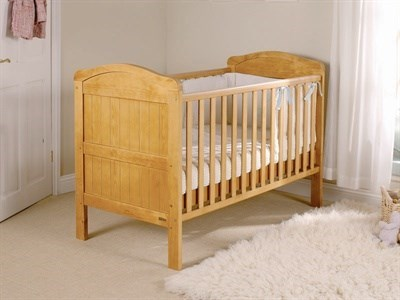 East Coast Nursery Country Cot Bed in Antique Pine Cot Bed