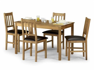 Product photograph showing Coxmoor Rectangular Dining Table