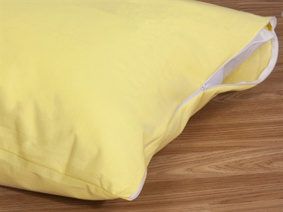 Delis Cotton Pillow Protector Beige Pillow Protector
