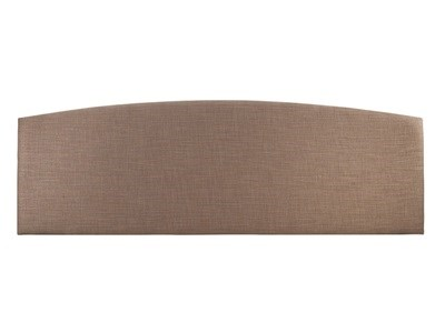 Serene Furnishings Doretta Stone 6' Super King Stone A Fabric Headboard