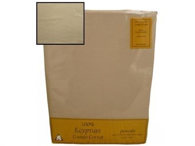 Texmore Egypt Flat Sheet Coffee 3 Single Linen