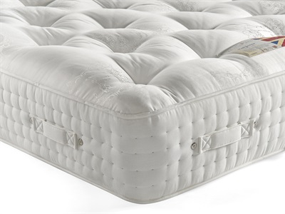 British Bed Company The Emperor (Firm) 5 King Size Zip And Link Mattress Only
