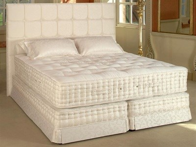 Relyon Emperor (Medium) Divan Set 4 6 Double Pocket Sprung - No Drawers Divan
