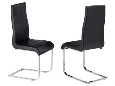Product photograph showing Evolve Set Of Two Dining Chairs