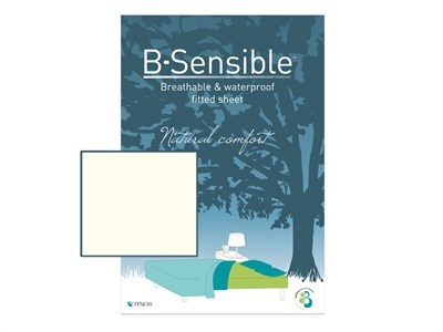B Sensible Breathable and Waterproof Fitted Sheet Arran 3 Single Arran Protector