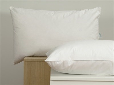 Norfolk Feather Company Ltd White Goose Feather and Down Pillow Single Pillow Feather Pillow