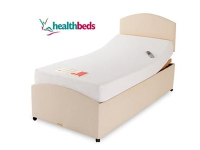 Healthbeds Ltd Memory Flex-matic 4 x 66 Special Size Adjustable Bed - No Drawers Electric Bed