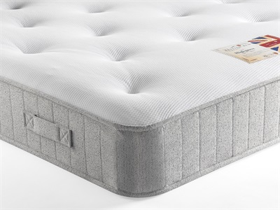 British Bed Company Contract Highgrove 3 Single Mattress Only Mattress
