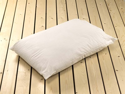 British Bed Company The Hollowfibre Pollycotton Pillow Single Pillow