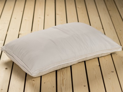 British Bed Company The Microfibre Pillow Hollowfibre Single Pillow