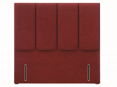 Hypnos Francesca 4 6 Double Slate Weave Strutted Fabric Headboard