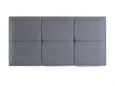 Hypnos Fiona - Strutted 4 6 Double Linoso Sky Headboard Only Fabric Headboard