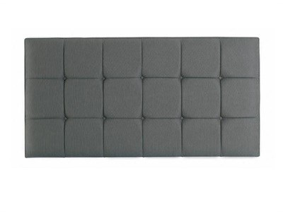 Hypnos Grace - Strutted 4 6 Double Imperio Biscuit Headboard Only Fabric Headboard