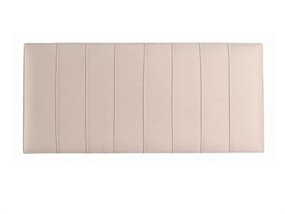 Hypnos Petra - Strutted 4 6 Double Imperio Biscuit Headboard Only Fabric Headboard